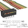 Rectangular Cable Assemblies -- M2MXT-1040K-ND -Image