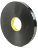 3M VHB Tape 4929 Black 1 in x 72 yd Roll -- 4929 1IN X 72YDS -Image