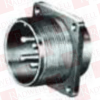 AMPHENOL MS3102A20-23P ( CIRCULAR CONNECTOR, RECEPTACLE, SIZE 20, 2 POSITION, BOX; MILITARY SPECIFICATION:MIL-DTL-5015 SERIES; CIRCULAR CONNECTOR SHELL STYLE:BOX MOUNT RECEPTA ) -Image
