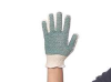 Heavyweight Knit Grip Gloves,Cotton,PK12 -- 8AGK0