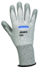 JACKSON SAFETY* G60 L3 Cut Resistant Gloves with Dyneema(R) Fiber, Grey Polyurethane Coated -- 036000-13823
