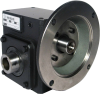Worm Gear Reducers - Cast Iron, Flange Input-Hollow Bore Output -- HdRF237-10/1-H-56C