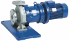 Horizontal, Seal-less, Close-coupled, Mag-drive Volute Casing Pump -- Magnochem-Bloc