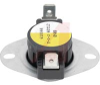 DISC THERMOSTAT, FAN CONTROL, CLOSE ON RISE, OPENS 120 DEG F, CLOSES 140 DEG F -- 70101827