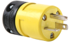 Rubber Housing Plug, Yellow -- 1433P -- View Larger Image