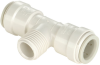 Quick-Connect Male Thread Tee - Polysulfone -- 3530B
