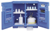 Blue Polyethylene Storage Cabinet 1 Door Counter Top -- 4437