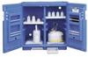 Blue Polyethylene Storage Cabinets -- 4437