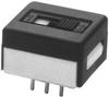 APEM - 25146NAB - SWITCH, SLIDE, DPDT, 4A, 250V, THD -- 10752 - Image