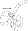 Reduced Bore Ball Valve -- M40Fi ISO