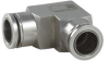"""Push-To-Connect Fixed Elbow Fitting for 1/4"""" OD Tube -- PTCUL-14 -- View Larger Image"""