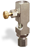 "(Formerly B1631-11-HN-SG), Straight Small Sight Feed Valve, Solid Gasket, 1/4"" Female NPT Inlet, 1/4"" OD Tube Outlet, Handwheel -- B1628-435B2HW -Image"
