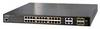 24-Port 10/100/1000T 802.3at PoE + 4-Port Gigabit TP/SFP Combo Managed Switch 220 Watt