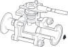 Stainless Steel Ball Valve for Sanitary Applications -- M80i ISO - Image
