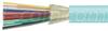 1 Meter Interval 6 count 50/125 OM4 Bulk Distribution Cable -- FOBOM4D6-M