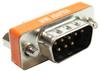 DB9 M/F Null Modem Mini Type Low Profile -- 30D1-C2-S