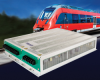 300VA, Rugged, Compact 3-Phase Railway Quality DC-AC Sine Wave Inverter -- CTP-300R-F7