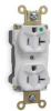 Straight Blade Receptacle,20 A AC,5-20R -- 1HBJ4