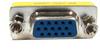 HD15 F/F Mini Gender Changer (Coupler) -- 10GC-F3 - Image