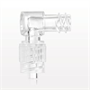 Elbow Connector, Female Luer Lock, Male Luer with Spin Lock -- 11499 -Image
