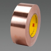 3M™ Conductive Copper Foil Tape 3313 Copper, 2 in x 36 yd 3.0 mil, 3 rolls per case -- 70000232838