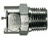 Metal quick disconnects, NPT (M) Pipe Adapters Body; 1/8