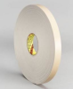 3M 4496 White Foam Mounting Tape - 2 in Width x 36 yd Length - 1/16 in Thick - 23525 -- 051115-23525 -- View Larger Image
