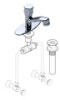 Symmons Metering Faucet without Temperature Selection (S-70 Series) -- S-74-G