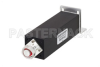 20 Watt RF Load Up to 2.7 GHz with 4.1/9.5 Mini DIN Male Black Anodized Aluminum -- PE6TR1022 -Image