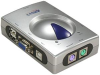 2-Way PS/2 (Keyboard & Mouse) to USB 2.0 (PC) KVM Switch -- 190118