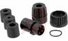 Connector; #2; Solder Cup; 4; Pin; Goldover Nickel (Standard) -- 70025430