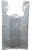 HDPE White T-Shirt Bags -- 50009