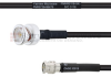 BNC Male to SMA Male MIL-DTL-17 Cable M17/28-RG58 Coax in 72 Inch -- FMHR0116-72 -Image