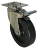 Stainless Swivel Caster with Total Locking Brake - Model 3A -- SS-3APB4-SML