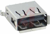 connector,universal serial bus,type a,vertical recept,black,4 contact -- 70115901 - Image