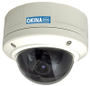 630TVL Super Low Lux DNR Vandal Dome Camera -- SDNVD-F63AI-OSD