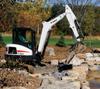 Zero Tail Swing Compact Excavator -- E35i - Image