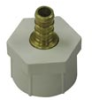 3/4 in. CF x 3/4 in. FPT - Swivel Nut - Brass -- WPFC-1212 - Image