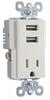 Combination Switch/Receptacle -- TR5261USB-LA -- View Larger Image