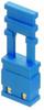 2 Pos. Female Jumper Socket, Handle Shunt, Blue -- M7683-46 -- View Larger Image