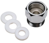 Male x Female Adaptor and Washers -- G66005 -Image