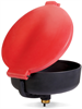 PIG Burpless Large Poly Drum Funnel Black For 30 and 55 gal. Steel Drums w/ 2