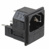 Power Entry Connectors - Inlets, Outlets, Modules -- PF0033/10/28-ND