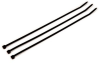 3M Black Standard Cable Tie CT15BK120-D - 15 in Length - 0.3 in Wide -- 051128-59313 -- View Larger Image