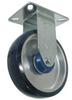 Rigid Caster - Polyurethane on Aluminum Wheel - Model K3 -- K3PA3x1-1/4-R3
