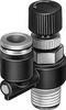 LRL-1/8-NPT-QS-3/16-U Differential pressure regulator -- 190892 -Image