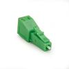 Fiber Optic In-Line Attenuator, Single-Mode, Male/Female, LC, APC, 15 dB -- FOAT55S1-LC-15DB