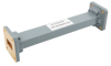 WR-75 Waveguide Section 6 Inch Length Straight Using UBR120 Flange With a 10 GHz to 15 GHz Frequency Range in Commercial Grade -- PE-W75S001A-6 -Image