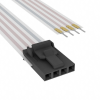 Flat Flex Cables (FFC, FPC) -- A9CAG-0408F-ND -Image