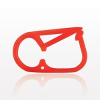 Pinch Clamp, Red -- 140141 -Image